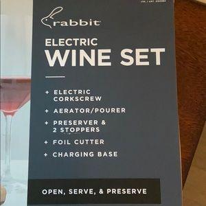 Kitchen - - Rabbit Electric Wine Set New